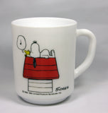 Snoopy Milk Glass Mug