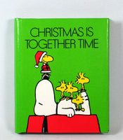 Snoopy Miniature Christmas Book