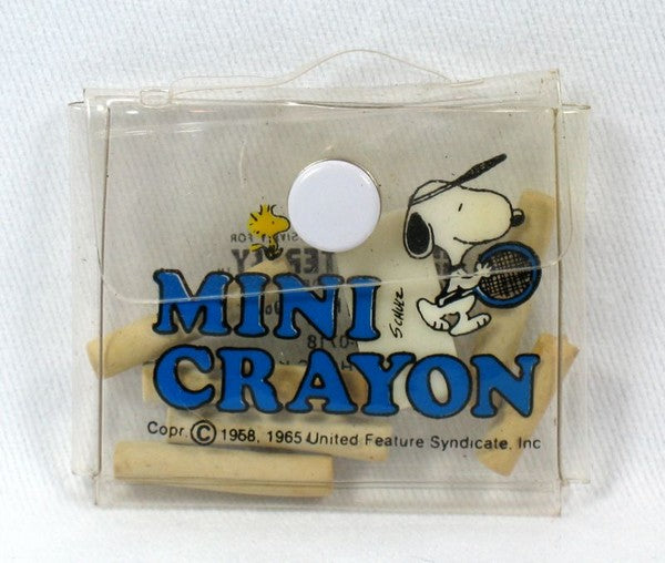 Snoopy Mini Crayon Set