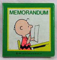Charlie Brown Mini Memorandum Book