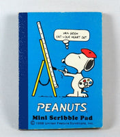 Snoopy Mini Scribble Pad