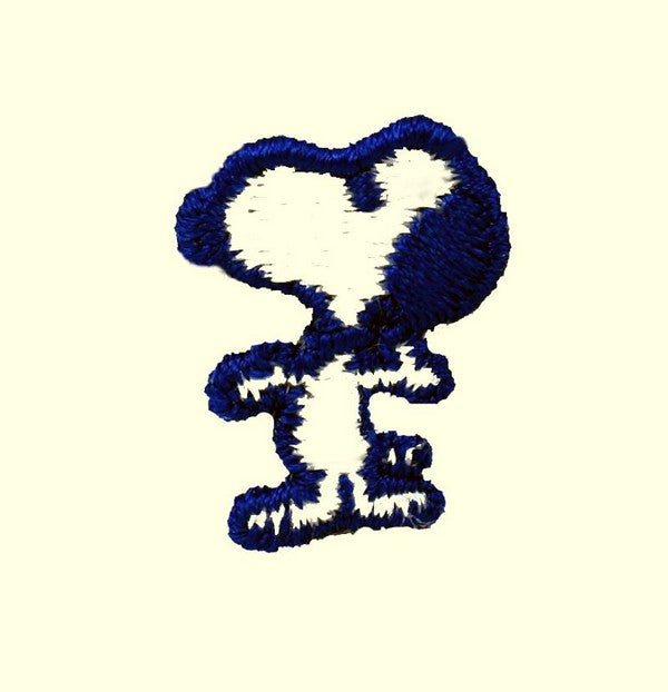 MINI SNOOPY PATCH (Blue Edge) - REDUCED PRICE!