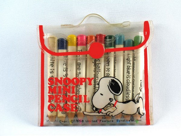 Snoopy Mini Colored Pencil Set