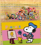 Snoopy and Friends Mini Sticker and Card Holder Set - Snoopy Artist