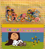 Snoopy and Friends Mini Sticker and Card Holder Set - Charlie Brown and Snoopy