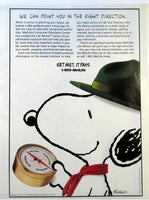 Met Life Advertisement - Snoopy Scout