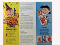 Met Life Advertisements - Charlie Brown, Lucy and Chex Mix