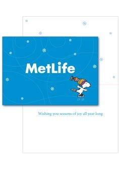 Met Life Card - Holiday Greetings