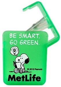 Met Life Pencil Sharpener - Go Green