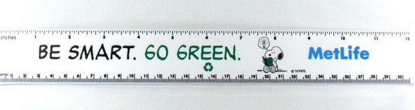 Met Life Ruler - Be Smart. Go Green