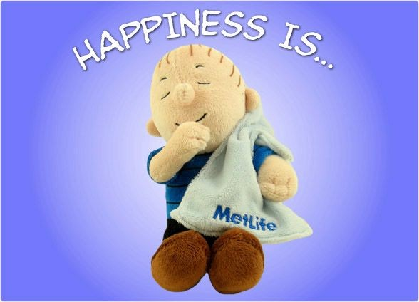 Met Life Linus Plush Doll