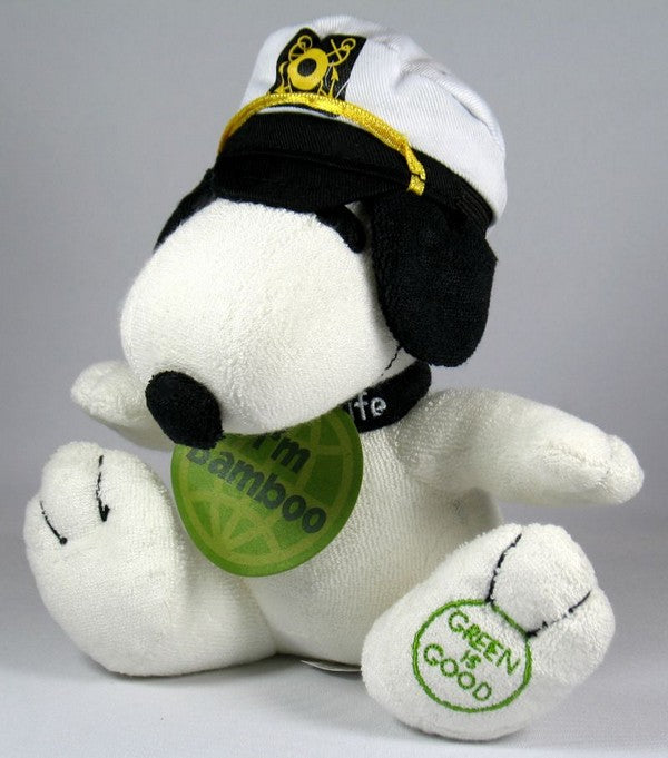 Met Life Snoopy Captain Plush Doll