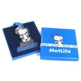 Met Life Acrylic Christmas Ornament