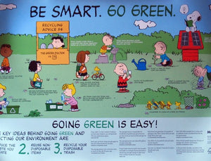 "Met Life ""Go Green"" Wall Poster"