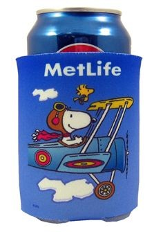 Met Life Collapsible Can Cooler