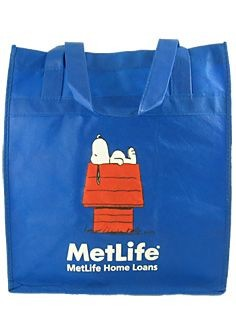 Met Life Eco-Friendly Reusable Tote Bag - REDUCED PRICE!