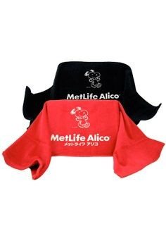Met Life Snoopy Turkish Workout Towel - Black