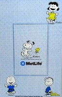 Met Life Vinyl Magnetic Picture Frame