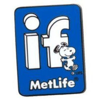 Met Life Magnetic Pin -