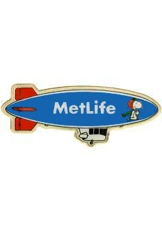 Met Life Blimp Magnetic Pin