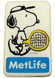 Met Life Magnetic Pin - Snoopy Tennis Player