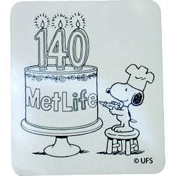 Met Life 140th Anniversary Magnet - REDUCED PRICE!