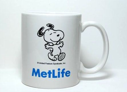 Met Life Mug - Happy Snoopy