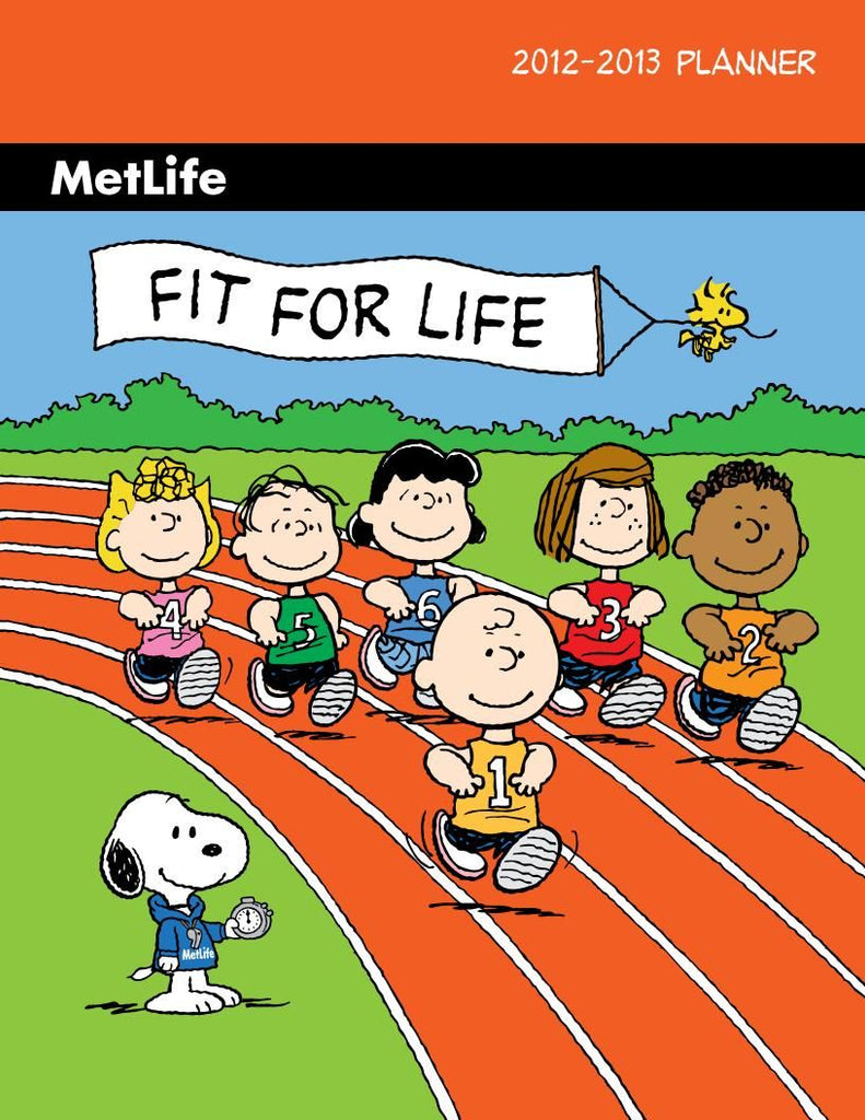 Met Life Fit For Life 2012-2013 Monthly Planner - Special Low Price!