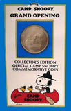 Knott's Camp Snoopy Grand Opening Commemorative Silver Coin (1992)