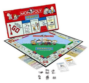 Peanuts Collector's Edition Monopoly Board Game (Used But LIKE NEW)