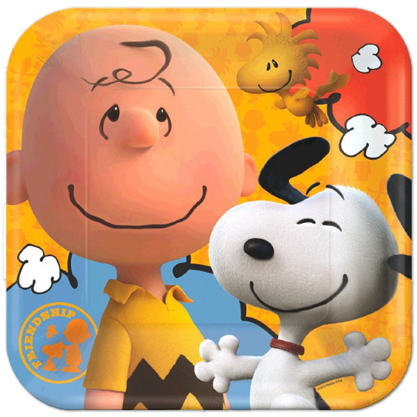 Peanuts Movie Dinner Plates