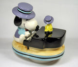 "Snoopy ""The Entertainer"" Revolving Musical Figurine"