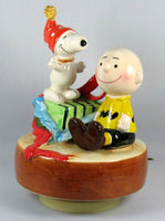 Charlie Brown and Snoopy 30th Anniversary Musical Figurine (1950-1980)