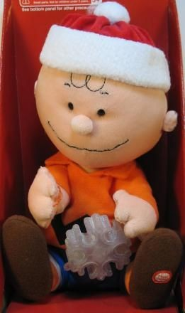 Charlie Brown Animated, Musical, and Lighted Plush Doll