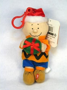 Charlie Brown Plush Musical Clip-On Doll / Key Chain