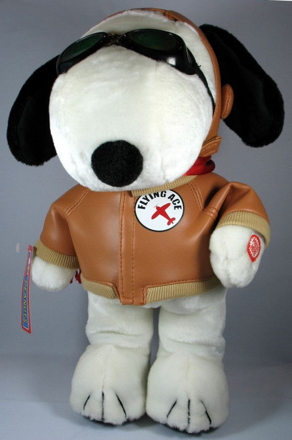 "Flying Ace Musical and Animated Doll - Plays ""Snoopy vs. the Red Baron"" tune"