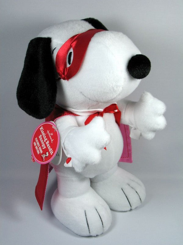 Hallmark Snoopy Kissing Bandit Animated Plush Doll with Sound