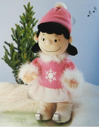 Lucy Skater Musical and Animated Plush Doll