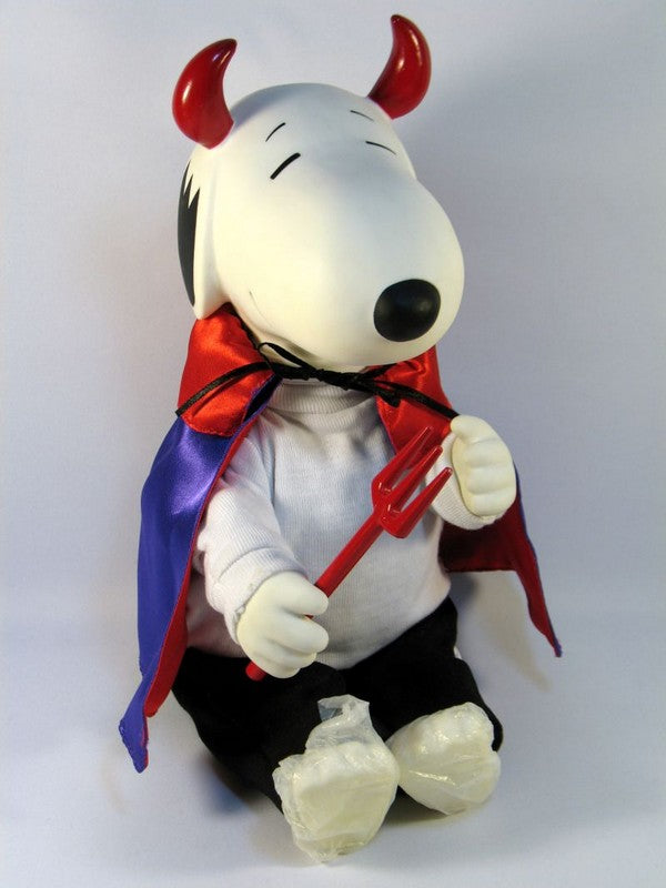 Snoopy Devil Halloween Rubber Doll - *MUSIC & MOTION NO LONGER WORK