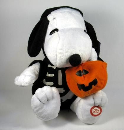 Snoopy Musical and Animated Halloween Doll