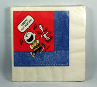 Charlie Brown and Snoopy Party Dinner Napkins