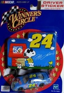 JEFF GORDON PEANUTS 50TH ANNIV. STOCK CAR