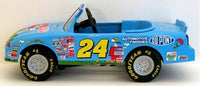 JEFF GORDON PEANUTS PEDDLE CAR BANK