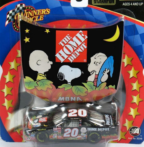 TONY STEWART PEANUTS HALLOWEEN STOCK CAR