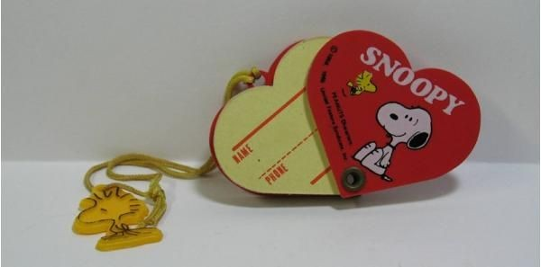 Snoopy and Woodstock Mini Address Book