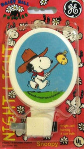 Daisy Hill Puppies - Cowboy Snoopy Vintage Night Light