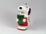 1982 Vintage Ceramic Christmas Ornament - Belle Caroler