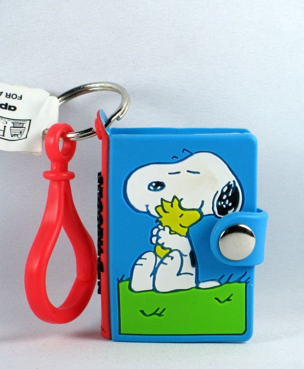 SNOOPY NOTEBOOK vinyl key chain