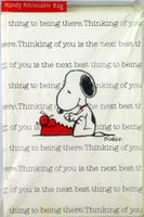 Snoopy Literary Ace Thinking of You Note Cards