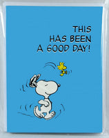 Snoopy Note Card Set - Good Day
